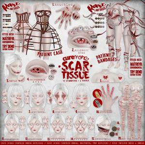 CUREMORE _ Scar Tissue _ GACHA KEY