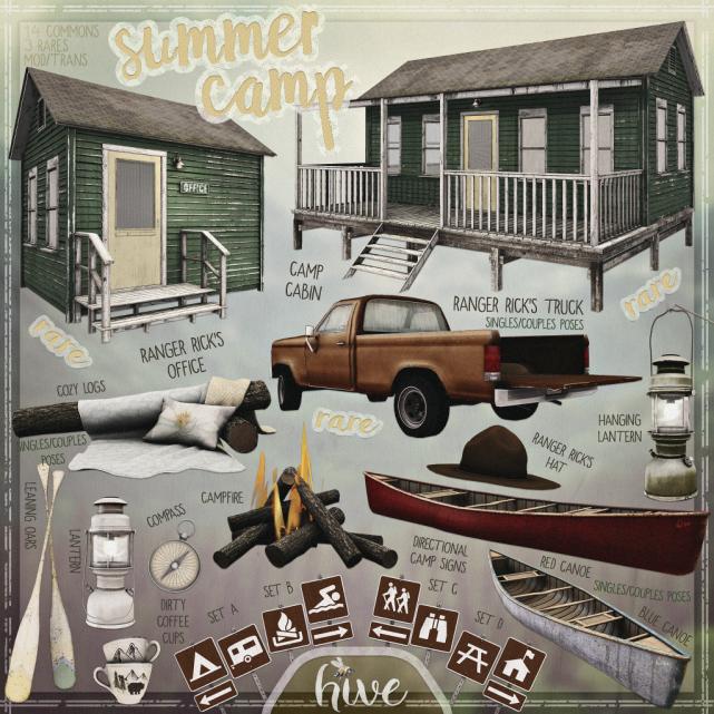 hive __ summer camp gacha AD