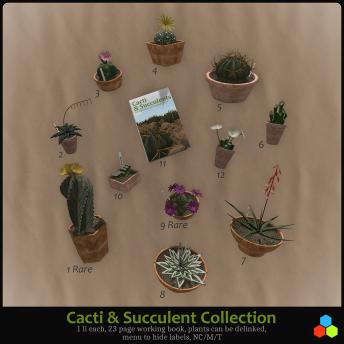 Cacti Gacha Key Board