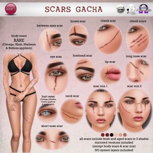 Izzie's - Scars Gacha (The Epiphany)