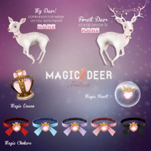 magic deer key