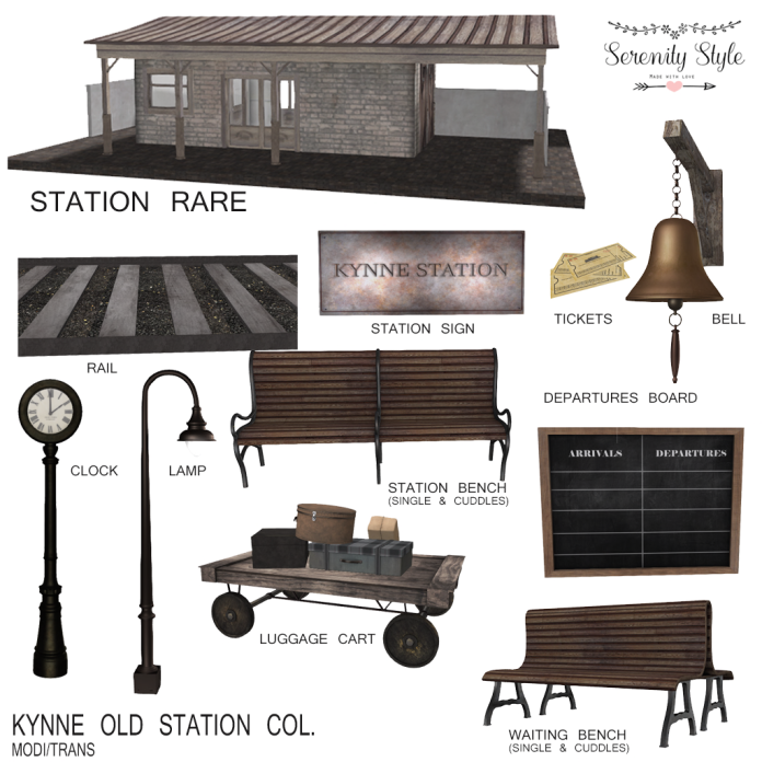 Serenity Style- Kynne Old Station key